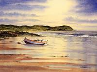 Mull Of Kintyre Beach Painting
