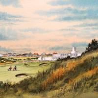 """Royal Birkdale Golf Course 18th Hole"" by billholkham"