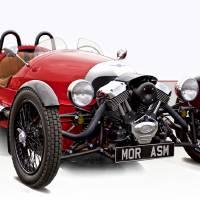 2016 Morgan 3 'Three-Wheel' Motor Car Art Prints & Posters by Dave Koontz