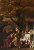 Abraham Entertaining the Three Angels, Ferdinand B