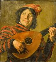 AFTER FRANS HALS  The Lute Player