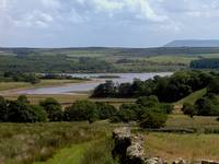 Stocks Reservoir and Pendle Hill