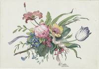Flower arrangement, Catharina Wilhelmina Schweickh