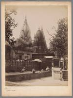 Kashi Vishwanath Temple in Benares, anonymous, 185