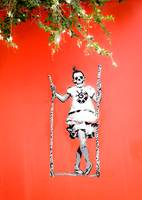 Skeleton on a Swing
