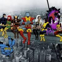 X-Men Lunch Atop A Skyscraper (Byrne Era Tribute) Art Prints & Posters by Dan Avenell