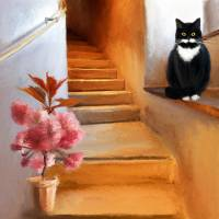 Welcome Home Art Prints & Posters by Anne Vis