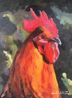 Rooster 9 x 12