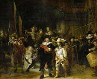 The Night Watch by Rembrandt (1642)