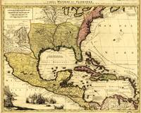 Map of Central America and Surroundings (1710)