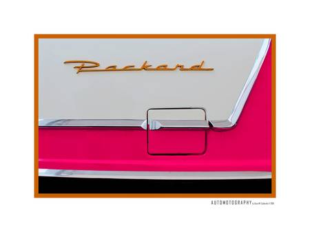 1956 Packard Caribbean Quarter Panel Emblem