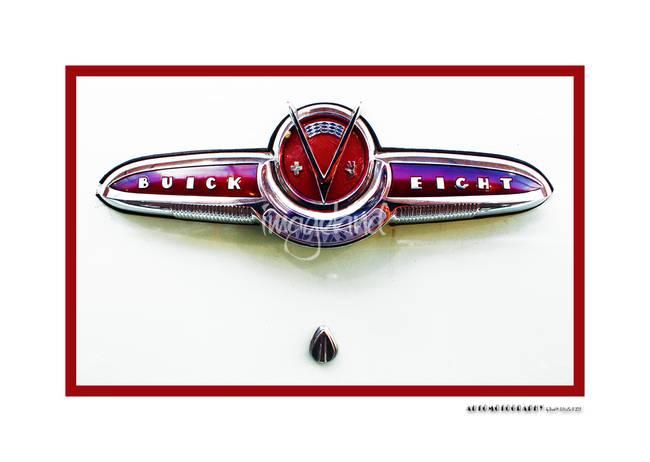 1953 Buick Roadmaster Trunk Emblem
