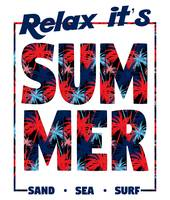 Relax It's Summer