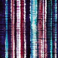 Bohemian Style Tie dye Stripes Design