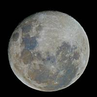 A 98% Waning Gibbous Moon by Andrew McCarthy