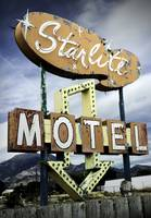 StarLite Motel Neon Sign