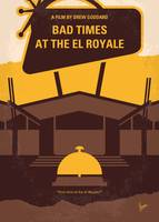 No1044 My Bad Times at the El Royale minimal movie