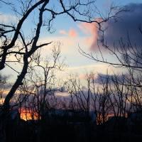 Winter Twilight Glow by Karen Adams