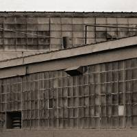 Warehouse Windows by Karen Adams