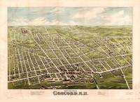 Bird's Eye View of Concord, New Hampshire (1875)