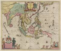 Vintage Map of Indonesia (1665)