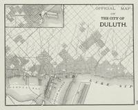Vintage Map of Duluth MN (1901)
