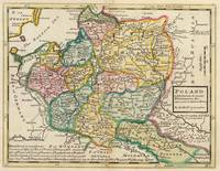 Vintage Map of Poland (1736)