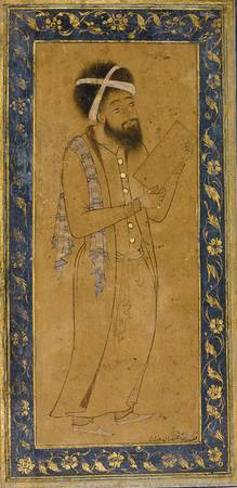A BLUE-EYED DERVISH, PERSIA, SAFAVID, LATE 16TH CE