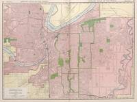 Vintage Map of Kansas City MO (1912)