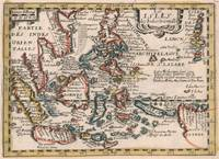 Vintage Map of Indonesia and The Philippines (1659