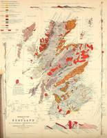 Vintage Scotland Geological Map (1865)