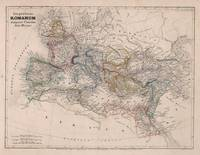 Vintage Map of The Roman Empire (1852)