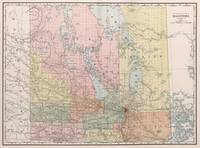 Vintage Map of Manitoba (1912)