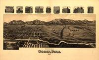 Vintage Pictorial Map of Ogden UT (1890)