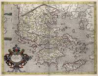 Vintage Map of Greece (1618)
