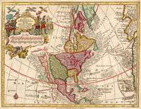 Vintage Map of North America (1760)