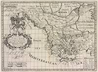 Vintage Map of Greece (1700)