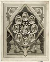 Chicago White Stockings Baseball Champions 1876-77