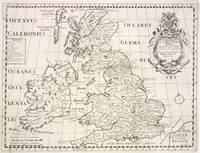 Vintage Map of The British Isles (1700)