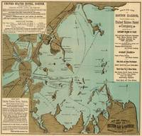 Vintage Map of Boston Harbor (1884)