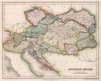 Vintage Map of Austria (1832)