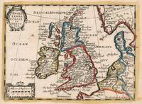 Vintage Map of The British Isles (1659)