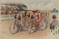 Vintage Cycling Race Illustration (1895)