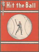 Vintage Baseball Magazine Cover Illustration (1921