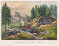 Vintage California Gold Rush Illustration (1871)