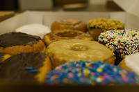 Delicious Box of Donuts Photograph