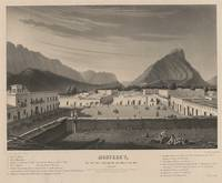 Vintage Monterrey Mexico Pictorial Illustration (1