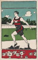 Vintage Track Athlete Illustration (1903)