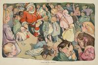 Vintage Santa Claus & Children Illustration (1903)