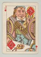 Vintage Jack of Diamonds Playing Card (1889)